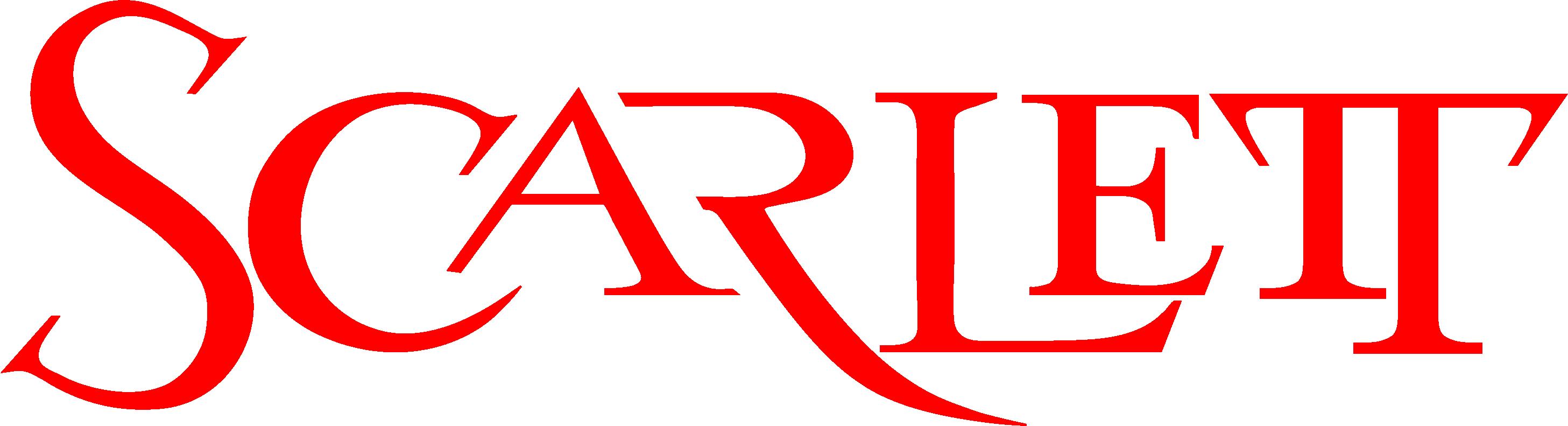 Scarlett Logo Rot